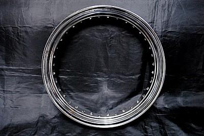 カワサキ 250TR フロント16インチ ホイールKIT 鉄リム+スポーク_画像1