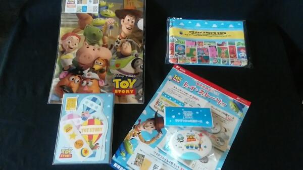 郵便局限定 TOY STORY トイストーリー 4種完品 PIXAR ディズニー ディズニーグッズの画像