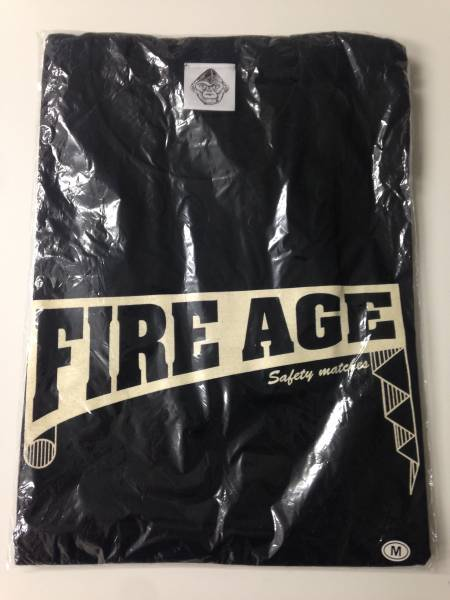 ザ・クロマニヨンズ FIRE AGE Tシャツ 甲本ヒロト Mサイズ 新品 ライブグッズの画像