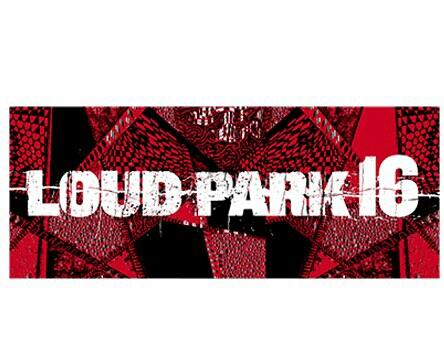 新品◆フェイスタオル LOUD PARK 16 ラウドパーク