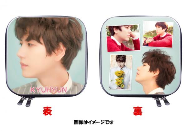 SJ キュヒョン 両面写真付き CDケース DVDケース 四角 03