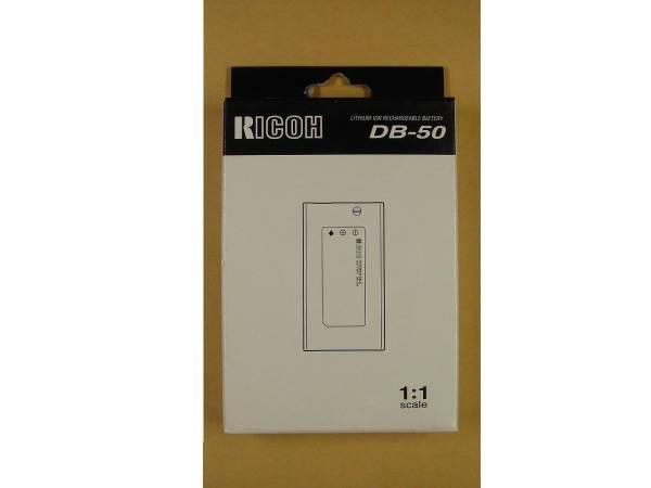 RICOH純正 Caplio R2/R1用 リチャージャブルバッテリー DB-50