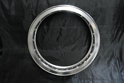 カワサキ 250TR フロント16インチ ホイールKIT アルミHリム_画像2