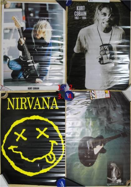 ポスター 7点セット / NIRVANA kurt cobain カート・コバーン