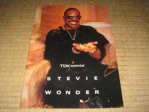 スティービーワンダー STEVIE WONDER 1985 パンフ パンフレット