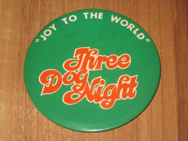 スリードッグナイト THREE DOG NIGHT 缶バッジ 缶バッチ バッヂ