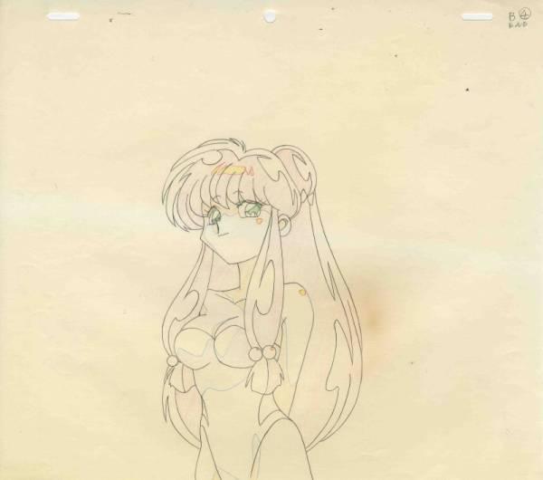 OVA『らんま1/2』珊璞(シャンプー)の原画1枚①です。_画像1