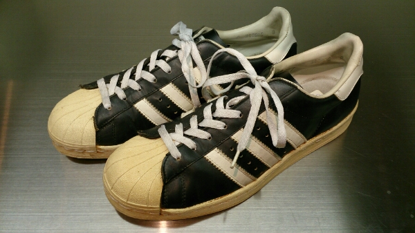 separation shoes 6abab 7ec2d ADIDAS SUPERSTAR Made in France 黒白 Original オリジナル