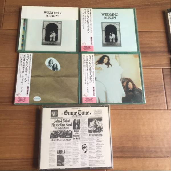 ジョン&ヨーコ紙ジャケ含CD16枚セット!