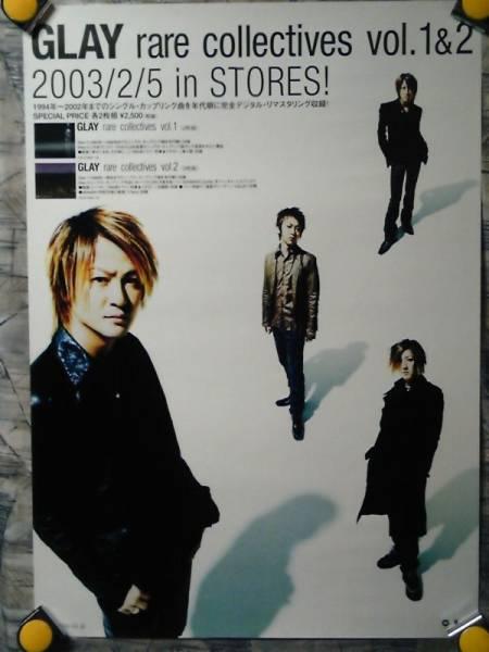 k4【ポスター/B-2】GLAY-グレイ/'03-rare collective/告知非売品
