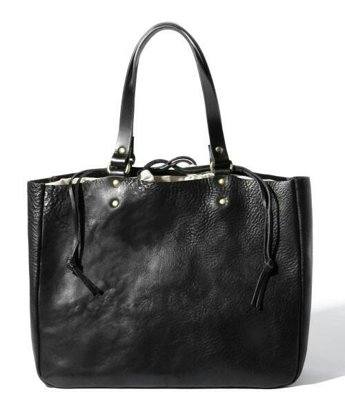 302f245d7815 代購代標第一品牌- 樂淘letao - SLOW スロウbono ボーノ栃木レザートートバッグ黒