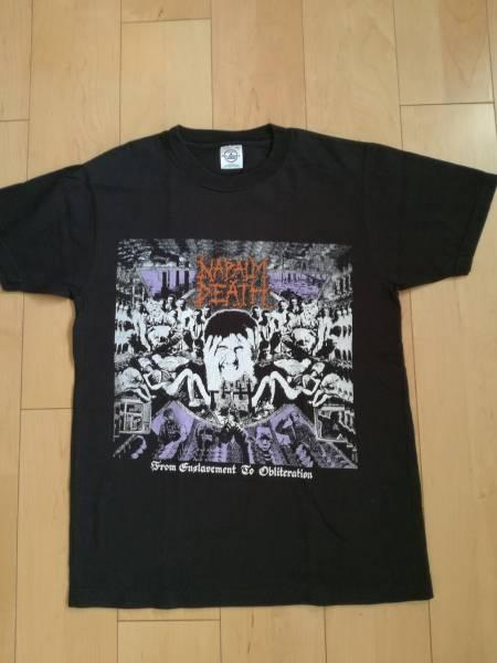 NAPALM DEATH Tシャツ BRUTAL TRUTH METALLICA SLAYER SUPREME