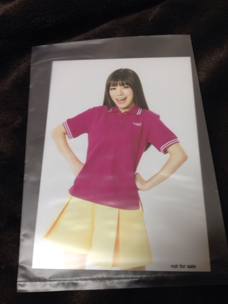 Machico fantastic dreamer HMV購入特典ブロマイド 生写真
