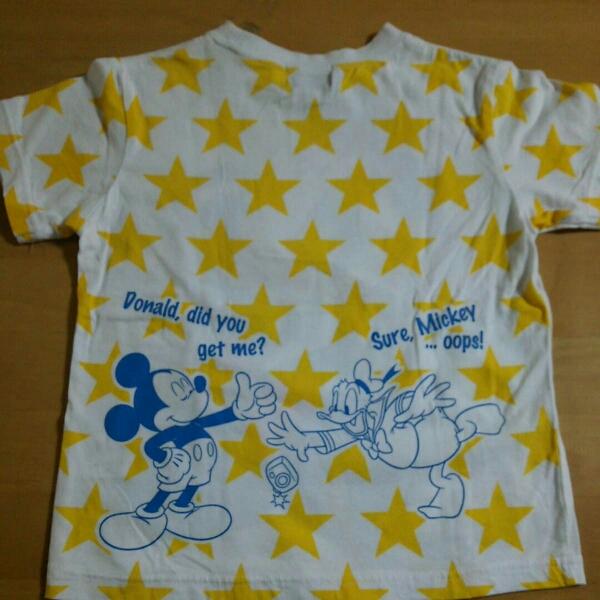 TDR 東京ディズニーリゾート 半袖Tシャツ 110cm 子供服 ドナルド ディズニーグッズの画像