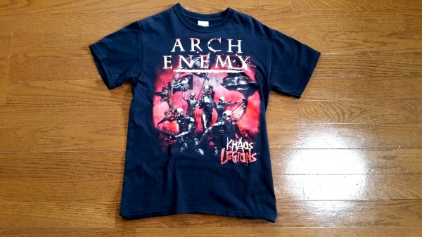 ARCH ENEMYアーチエネミー2012年日本公演Tシャツ