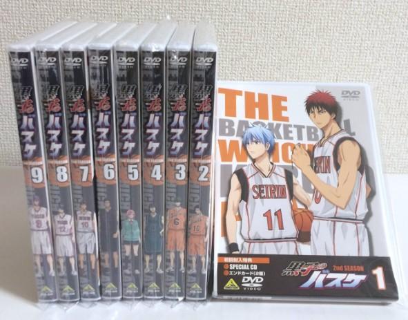 【新品】 黒子のバスケ 2nd SEASON (初回版) 全9巻セット グッズの画像