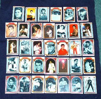 エルビス・プレスリー COLLECT ALL 66 CARDS 1978 M717