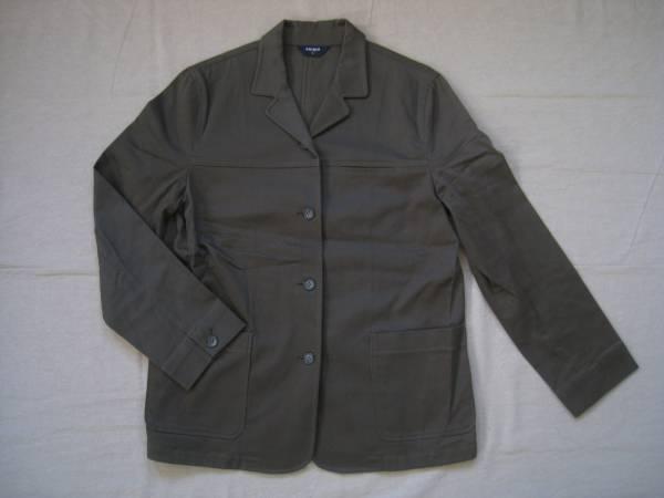 【美品!】 ■ UNIQLO / ユニクロ ■ テーラードジャケット カーキ Lサイズ (NS01L014)