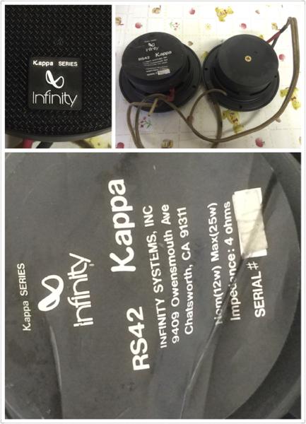 長野発!RS42 KAPPA スピーカー現状品_画像2