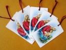 キリスト教◆しおり(栞) 「聖母子」 5枚セット (新品)