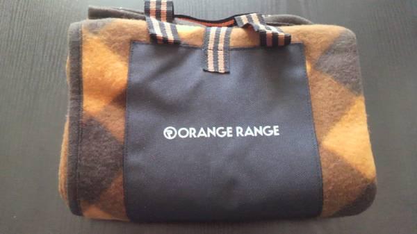 オレンジレンジ フリースブランケット(茶色) レア品!