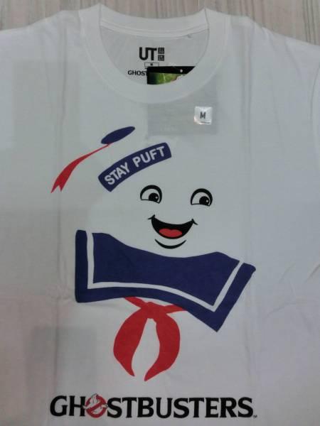 映画ゴーストバスターズ◆マシュマロマン Tシャツ Mサイズ ユニクロ UT◆Ghostbusters Staypuft Marshmallow Man T shirt_画像2