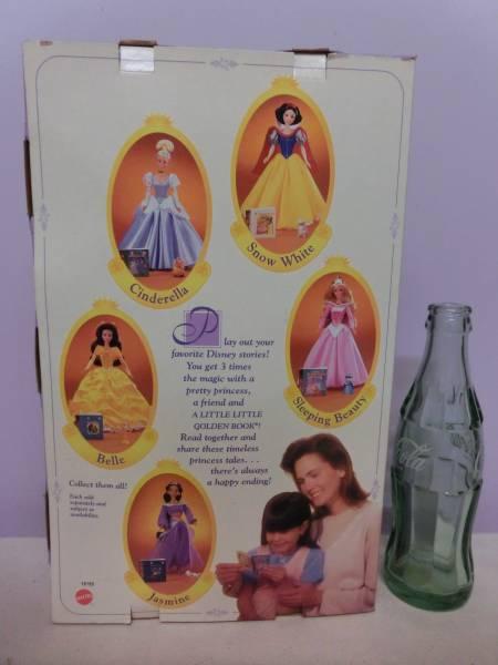 ディズニー 美女と野獣◆ベル 90s フィギュア 人形 ルミエール マテル ビンテージ◆Disney Beauty and the Beast MATTEL Doll Figure 映画_画像3