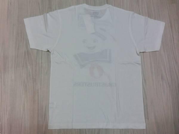 映画ゴーストバスターズ◆マシュマロマン Tシャツ Mサイズ ユニクロ UT◆Ghostbusters Staypuft Marshmallow Man T shirt_画像3