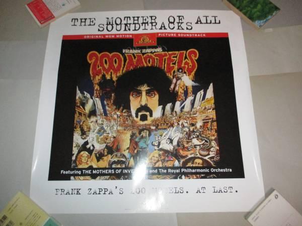 ポスター 200モ-テルズ フランク・ザッパ Frank Zappa