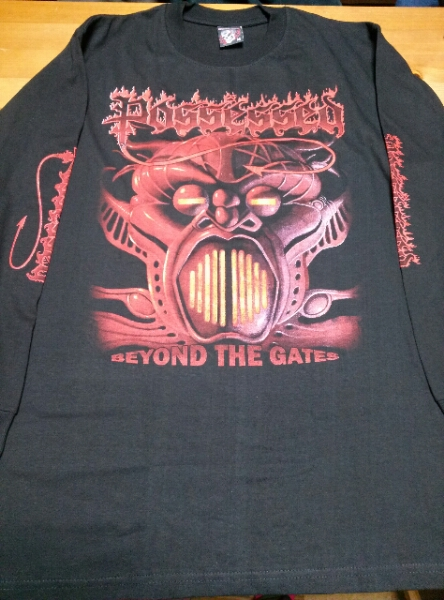 Possessed 長袖Tシャツ beyond the gates 黒M / slayer ロンT
