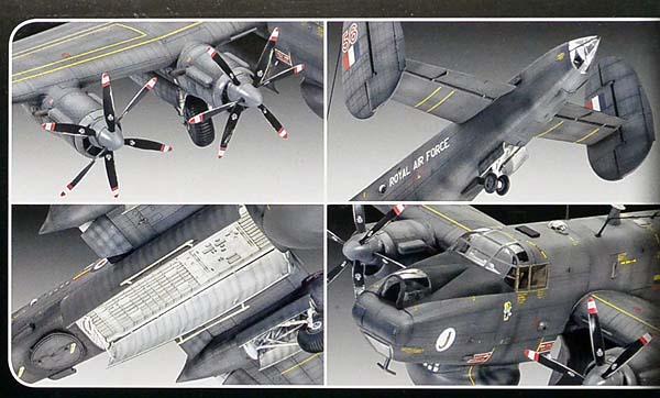 1/72 レベル アブロ シャクルトン Mk.2 AEW 04920_画像2