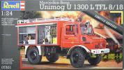 ●蔵出し 1/24 レベル ベンツ ウニモグ 消防車 (限定版) 07501