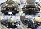 77-81 ファイアーバード・トランザム スペシャル ゴールドライン Pontiac Firebird TransAm 2nd デカール 新品 イーグルマスク アメ車 旧車