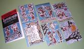 【アイヌ木版絵はがき】コンニチハ北海道 砂澤ビッキ