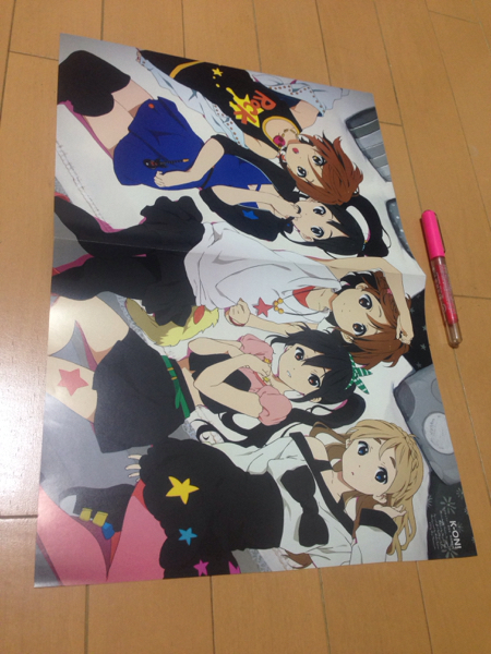 middle two sick also .. want to do!* K-On!* both sides pin nap(J1403)
