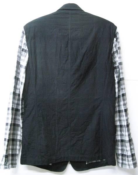 Y-3 ヨウジ YOHJI×adidas:袖切替 ジャケット Yohji Yamamoto jacket_画像2