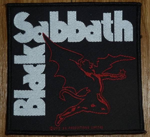 即決★BLACK SABBATH 角型 パッチ ワッペン 正規品