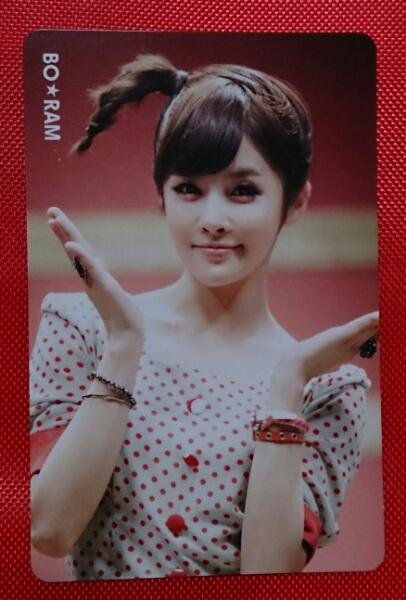T-ARA ボラム Roly-Poly トレカ 即決 カード Boram Japanese ver