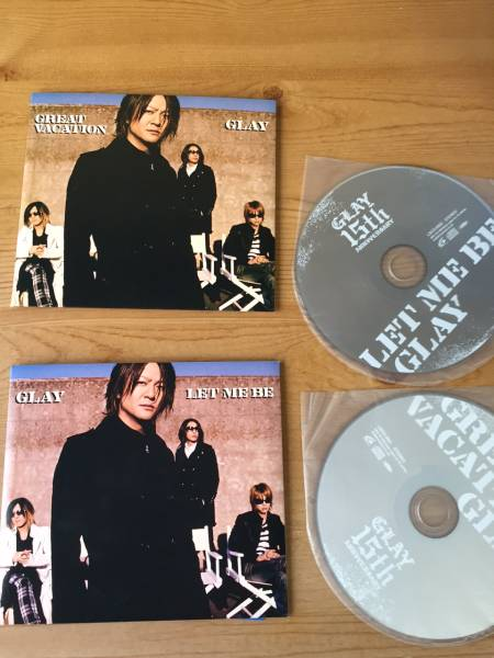 GLAY 限定CD2枚セット LET ME BE Great Vacation