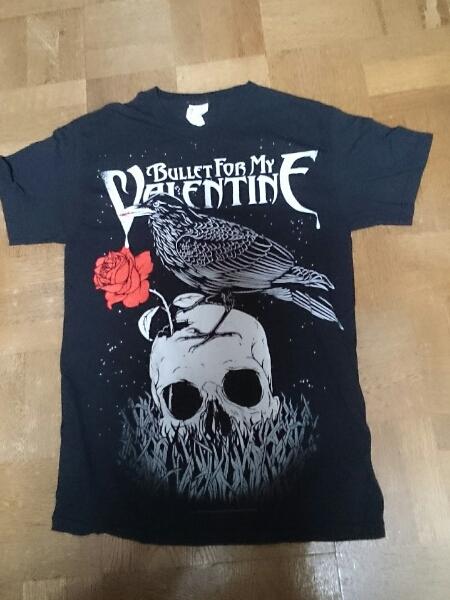BULLET FOR MY VALENTINE Raven Tシャツ(黒)S ロックT バンドT