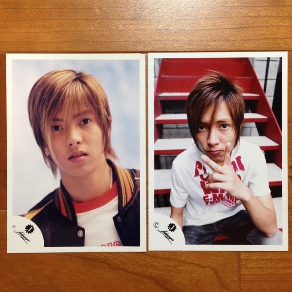 即決¥2000★公式写真 820★山下智久 Jr.時代 貴重 Jロゴ 2枚セット