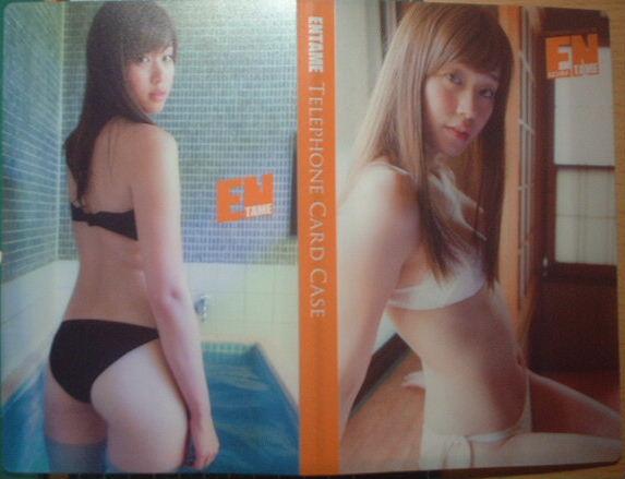 EN1608 オリジナルテレカケース 稲村亜美