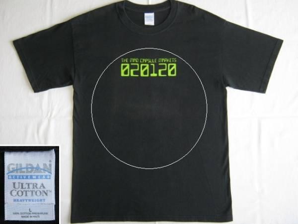★古着 THE MAD CAPSULE MARKETS ザ・マッド・カプセル・マーケッツ 020120 Tシャツ L 黒★