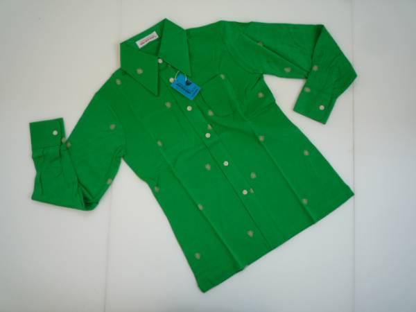 【未使用!!】♪ダンロップ/DUNLOP♪ 長袖シャツ 緑 M
