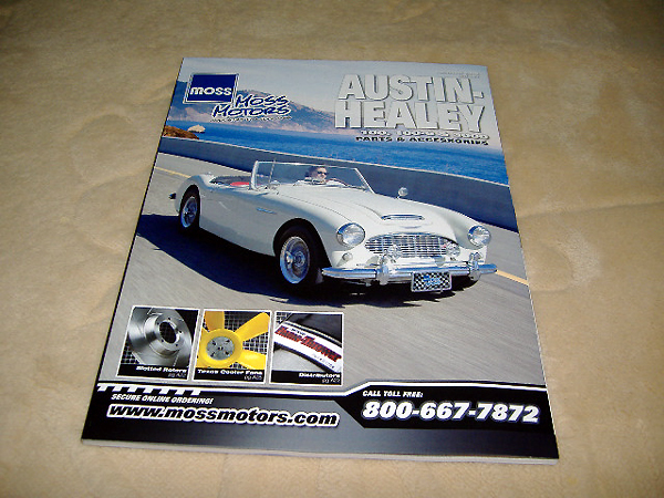Austin-Healey US MOSS catalog #: Real Yahoo auction salling