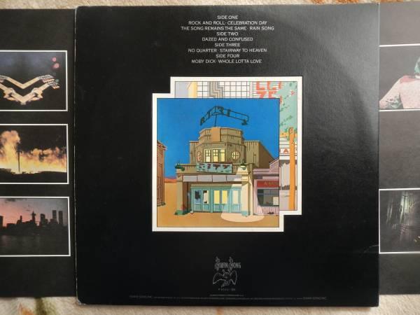 【帯LP】レッドツェッペリン/狂熱のライブ(P5544-5Nワーナーパイオニア/SWAN SONG1976年2枚組obiLED ZEPPELIN/THE SONG REMAINS THE SAME)_画像2