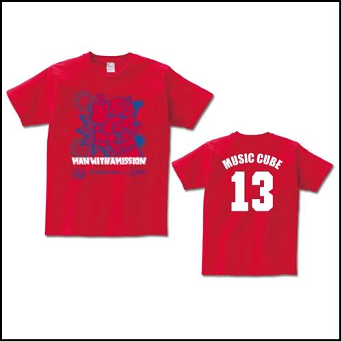 貴重 MAN WITH A MISSION 広島カープ コラボ Tシャツ S CARP セリーグ優勝 マンウィズアミッション V9 リーグ3連覇 cs 日本シリーズ_画像3