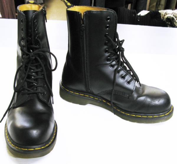 Yohji ヨウジ×ドクターマーチン:2015-16AW レザー ブーツ(革靴_画像1