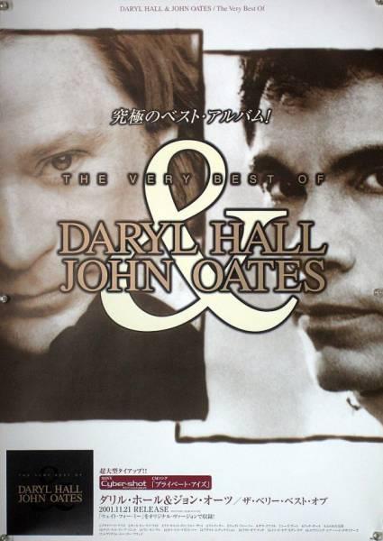 DARYL HALL JOHN OATES ホール&オーツ B2ポスター (1Q13013)