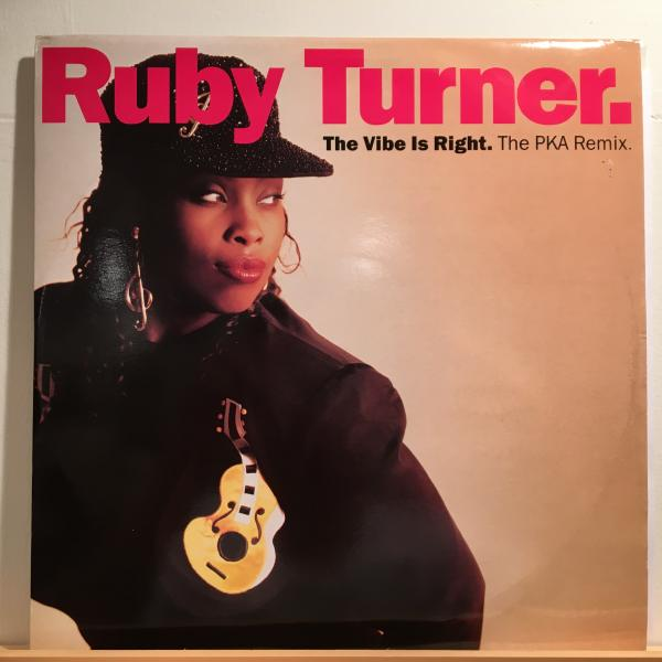 ○Ruby Turner/Vibe Is Right○メロウHOUSE CLASSIC!_画像1